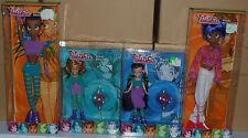 (NIB) 4 x TOTALLY WITCH Dolls ... 2 x Large; 2 x Small