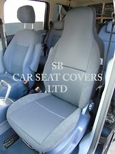 TO FIT A ISUZU TROOPER, CAR SEAT COVERS - EBONY BLACK