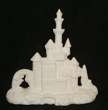 "Large Mystical Fantasy CASTLE 12 1/2"" tall  *Ceramic Bisque Ready to Paint"