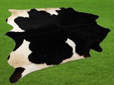 "New Cowhide Rugs Area Cow Skin Leather 19.88 sq.feet (54""x53"") Cow hide U-2609"