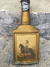 Beam's Choice Decanter Bottle Man On A Horse De Keyser Collector Bar Decor