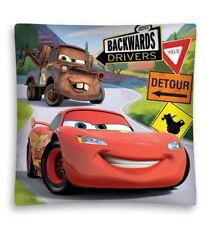 Disney Pixar Cars Cartoon Kids Cushion Cover Pillowcase Bedroom Sofa Decor