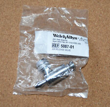 NEW BLOOD PRESSURE AIR RELEASE VALVE Welch Allyn 5087-01 FREE PRIORITY SHIPPING