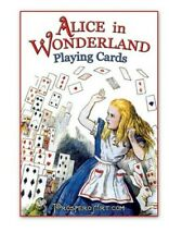 Alice In Wonderland Playing Cards - 54 Illustrations by Lewis Carroll - Red Back