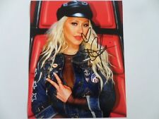 Christina Aguilera - Pop Prince 8x10 Photograph Signed Autographed Free Shipping