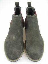Geox Herren Ankle Boots U UVET A Wildleder Braun/Rot Gr.42