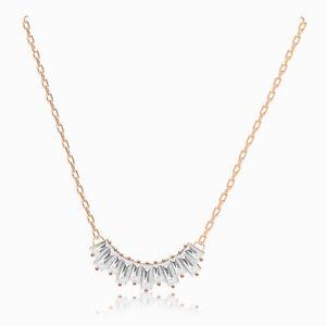 Swarovski sunshine necklace crystals rose gold 5459590