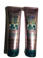 L'Oreal EverPure Repair & Defend Shampoo And Conditioner 8.5 oz Each NEW SEALED