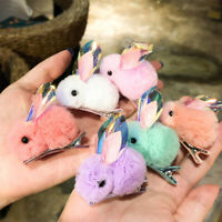 Children Chiffon Bunny Barrette Cute Handmade Rabbit Hair Clips Baby Headwear b