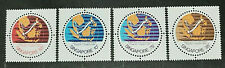 SINGAPORE 1978 ASEAN SUBMARINE CABLE NETWORK SG 331 -334 MNH OG FRESH