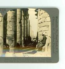 B2578 Keystone V9870T The Colonnade In The Temple Of Karnak Thebes Egypt D