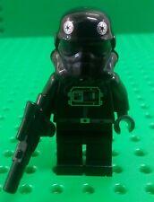 *NEW* Lego Tie Fighter Imperial Pilot Star Wars Minifigure Fig w Blaster x 1