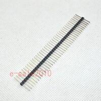 1//2//4 pcs 1x40 40 Pin 2.0mm Pitch Straight Male Header 20mm Long Pins USA Seller