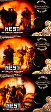 2013 Breygent  Transformers Chapman Nest Uniform Film Relic Set TC1, TC2, TC3