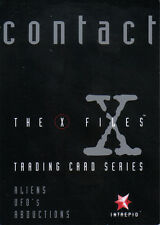 X FILES CONTACT PROMOTIONAL CARD