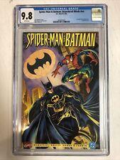 Spider-Man Batman Disordered Minds (1995) # NN (CGC 9.8 WP) Carnage & Joker App