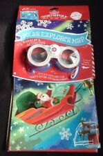 Christmas Polar Express Map With Goggles and Activities 3D Exploration Hallmark