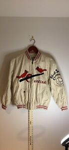 St Louis Cardinals Mirage First String Jacket Kids Medium 1934 Commemorative