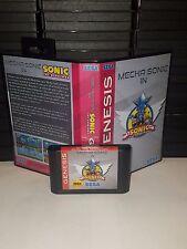 Mecha in Sonic The Hedgehog 1 Game for Sega Genesis! Cart and Box!