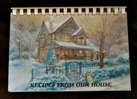 Vintage Fundraiser Cookbook-Recipes From Our House - Assistance League of Denver
