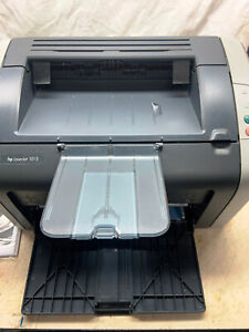HP LaserJet 1015 Personal_Black&White Laser Printer_Power+USB Cable Included