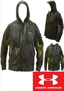 Under Armour Men's Break Up Eclipse Utility Pocket Light Camo Zip Hoodie (CZ-24)