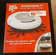 New Dirt Devil Whiskers SV The Hard Floor Robot Vacuum