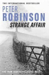 Robinson, Peter, Strange Affair : Inspector Banks Novel, Very Good, Paperback