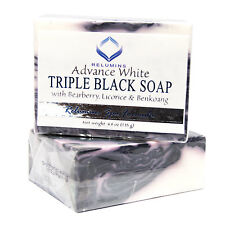 Relumins Spa Formula Triple Action Black & White Whitening Soap