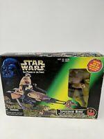 Star Wars Power of the Force Speeder Bike with Luke Skywalker Action Figure