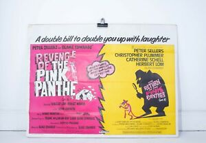 Vintage Pink Panther Double Bill Poster - Bidding Room
