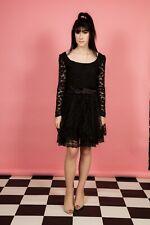 80s vintage black laced prom dress - Madonna fancy dress?  Little black dress