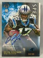 Devin Funchess autographed signed rookie card 54/99 2015 Topps Packers
