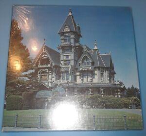 Vtg CARSON MANSION Eureka, CA Jigsaw Puzzle Victorian House Eaton Treasure USA