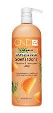 Creative CND Nail Scentsations Hand & Body Lotion TANGERINE & LEMONGRASS  31 oz