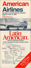 American Airlines system timetable 6/15/90 [308AA] Buy 4+ save 25%
