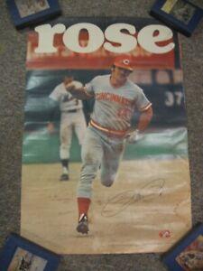 "1979 Pete Rose  Poster Measures 24"" X 36"""