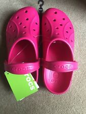 MEN WOMEN CROCS CLOGS FEAT RASPBERRY ROOMY FIT 11713-652 M 9 W 11