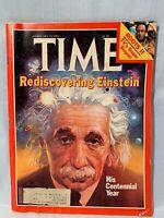 Vintage TIME Magazine Rediscovering Einstein February 19, 1979 Issue
