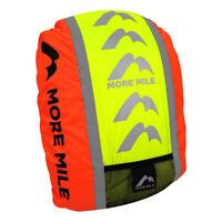 More Mile High Viz Waterproof Cycling Running Backpack Bag Rucksack Rain Cover
