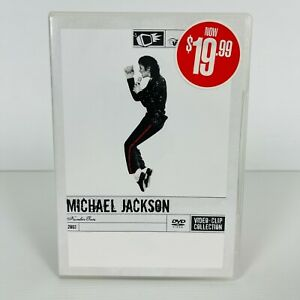Michael Jackson Number Ones 2003 Video Clip Collection DVD Region 4 Free Postage
