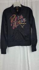 Rocawear jacket zipper long sleeve womens  sz XL multi color polyester coat