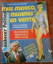1990 Magazine MISS MEXICO 90 AMANDA OLIVARES SCANDAL piña olaya TELEVISA rare