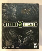Aliens vs Predator 2 II PC Rare Big Box Collectors Vintage Video Game