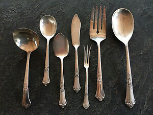 """STATE HOUSE STERLING """"STATELY"""" FLATWARE. Post 1940s. 8 Place Setting"""