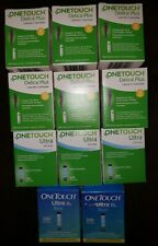 600 OneTouch Delica plus and 500 One Touch Ultra Test Strip