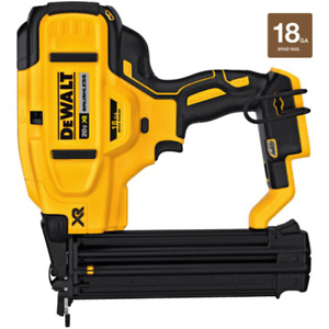 New 20-Volt Max Xr Lithium-Ion Cordless 18-Gauge Brad Nailer Tool-Only DCN680B