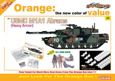 DRAGON CYBER-HOBBY 9125 M1A1 Abrams USMC + Equipage