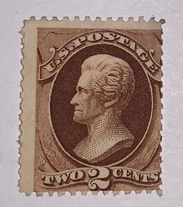 TRAVELSTAMPS: 1870 US Stamps Scott #146 Mint Dist OG Perf 12 M OGD 2 Cent
