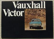 VAUXHALL VICTOR Car Sales Brochure 1970 V1929/11/69 SUPER Estate 2000 SL